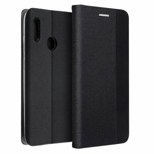 Coque Folio Sensitive Book pour Huawei P40 Lite E Noir