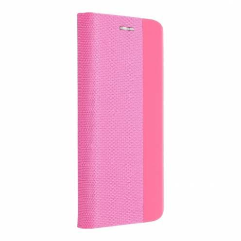 Coque Folio Sensitive Book pour Samsung A40 light Rose