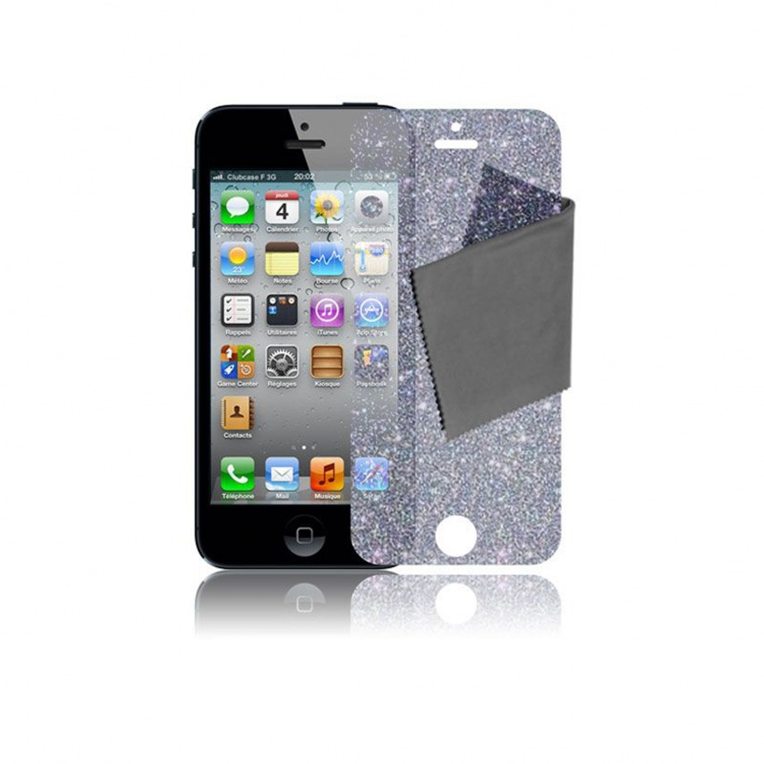 Zoom sur 5 Films de protection DIAMANT HQ pour iPhone 5