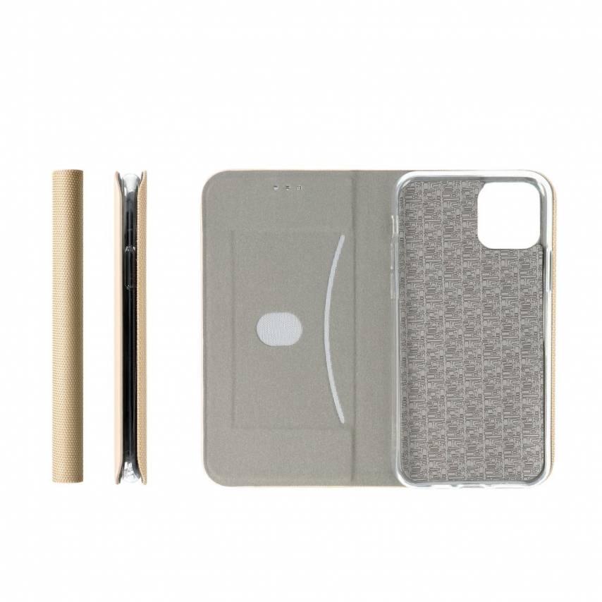 Coque Folio Sensitive Book pour Samsung A71 Or