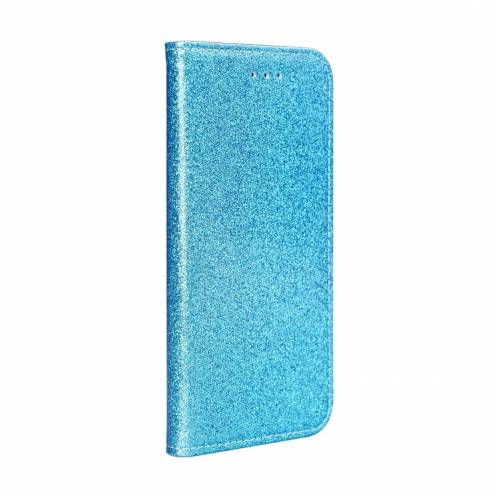 Coque Folio SHINING Book pour Huawei P40 Lite E light blue