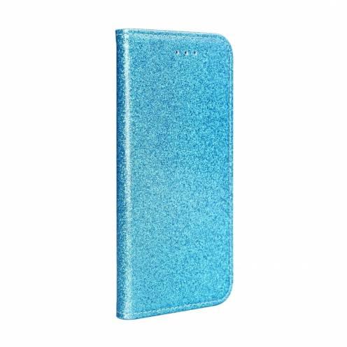 Coque Folio SHINING Book pour Samsung A40 light blue