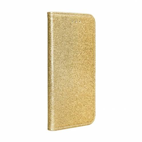 Coque Folio SHINING Book pour Samsung A40 Or