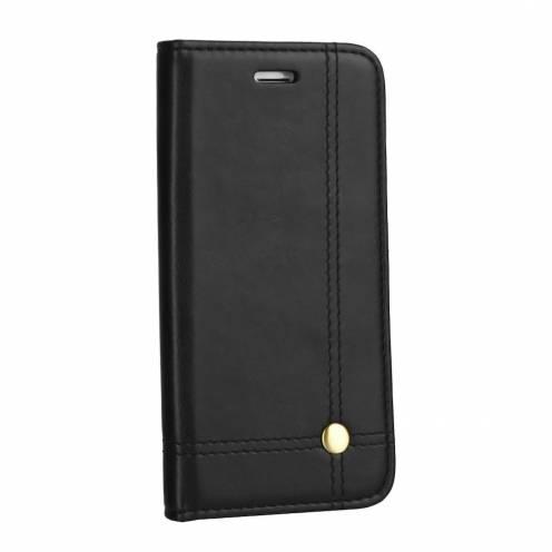Coque Folio Prestige Book case pour Samsung Galaxy M51 Noir