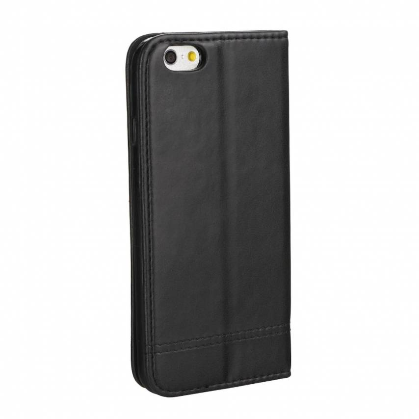 Coque Folio Prestige Book case pour Samsung Galaxy A10 Noir