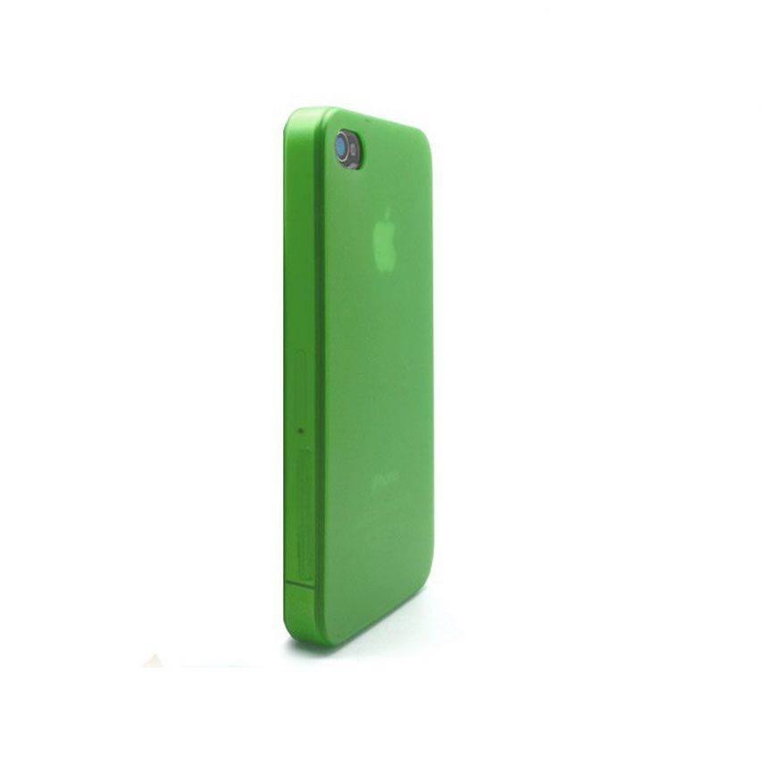 Visuel supplémentaire de Coque Ultra Fine 0.3mm Frost iPhone 4/4S Verte