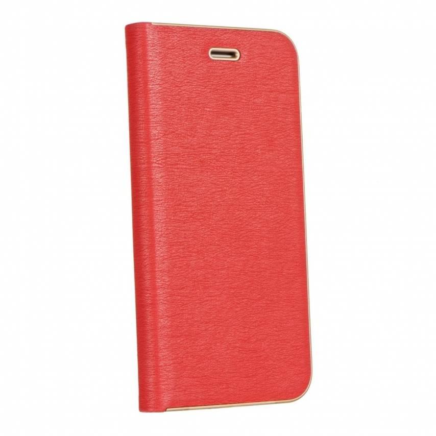 Coque Folio Luna Book pour Apple iPhone 7 / 8 / SE 2020 Rouge