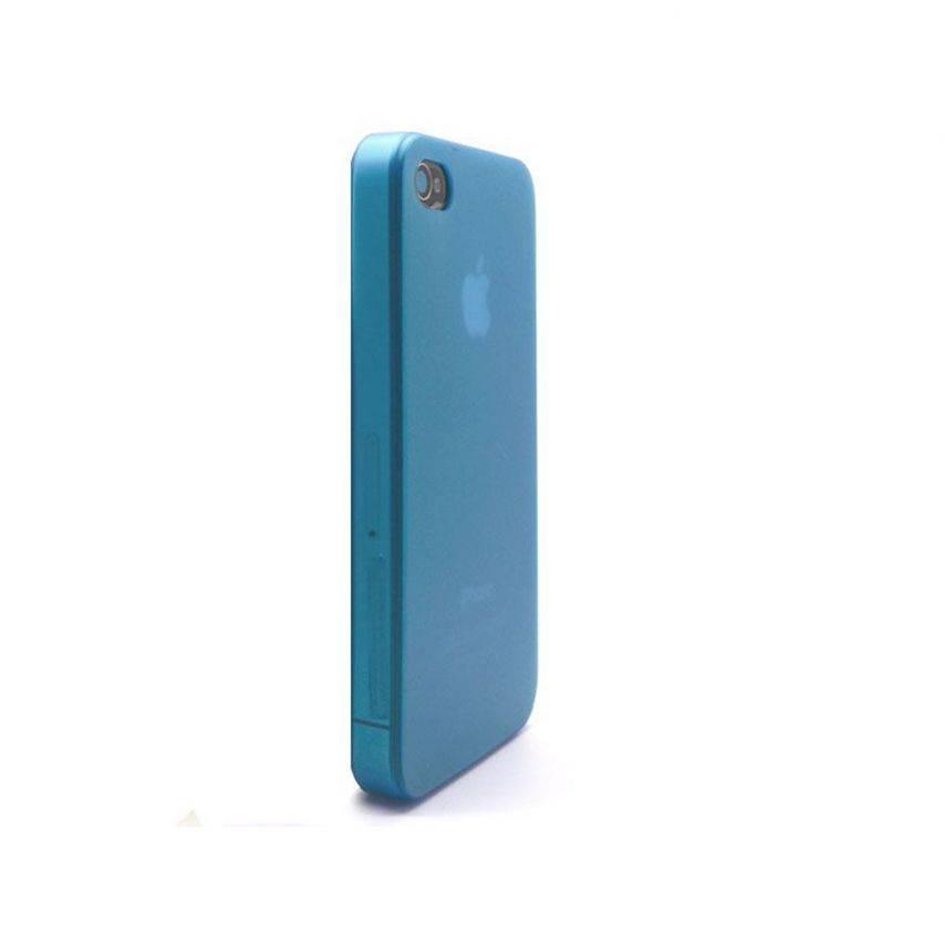 Visuel supplémentaire de Coque Ultra Fine 0.3mm Frost iPhone 4/4S Bleue