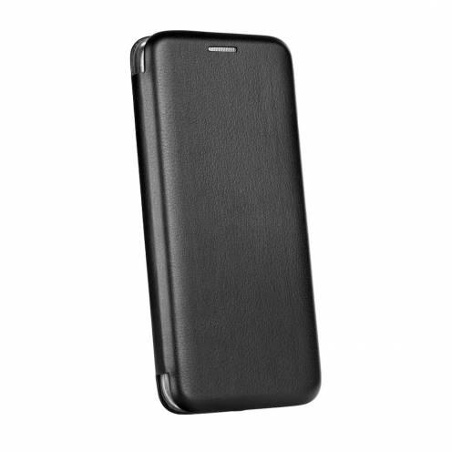 Coque Etui Book Elegance pour Samsung A6 Plus 2018 Noir