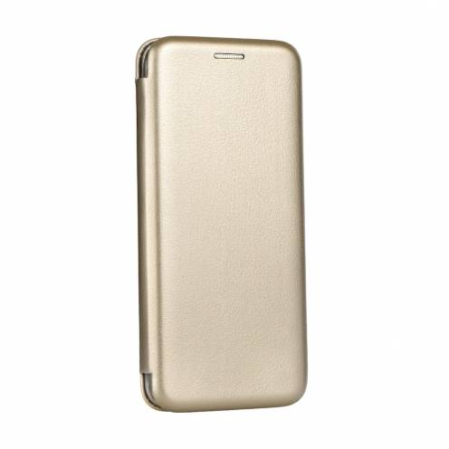 Coque Etui Book Elegance pour Huawei P Smart 2021 Or