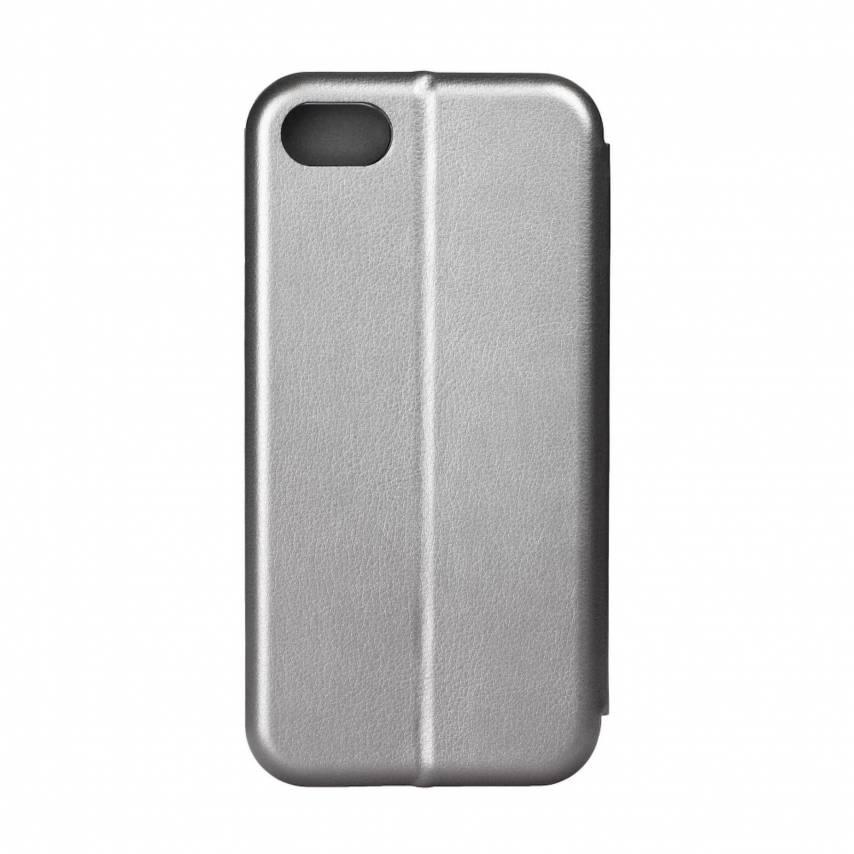 Coque Etui Book Elegance pour Apple iPhone 7 / 8 / SE 2020 Gris