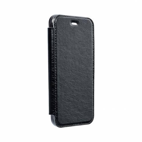 Coque Etui Electro Book pour Samsung A40 Noir
