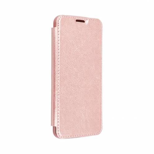 Coque Etui Electro Book pour iPhone XR rose Or