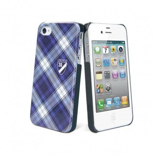 Zoom sur Coque Crémieux 38® Fashion Back Bleue pour iPhone 4S/4