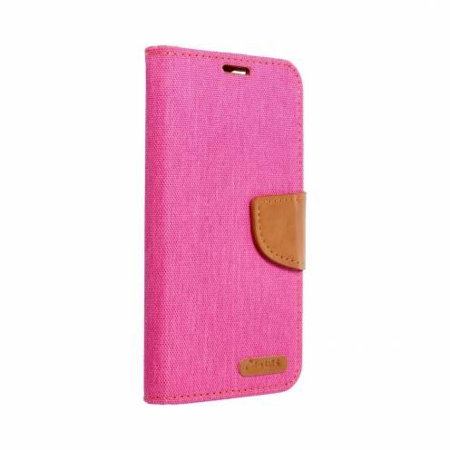 Coque Etui Canvas Book pour Apple iPhone 12 MINI Rose
