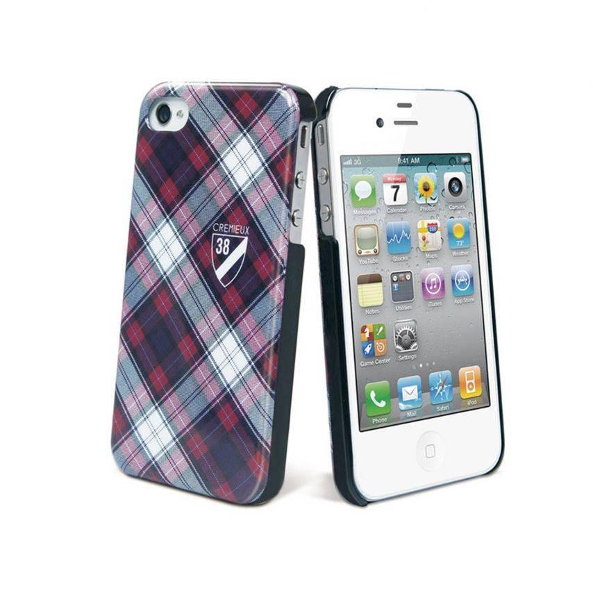 Zoom sur Coque Crémieux 38® Fashion Back Rouge pour iPhone 4S/4