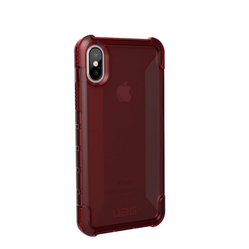 Coque Antichoc Apple iPhone X / XS Urban Armor Gear® UAG Plyo Rouge