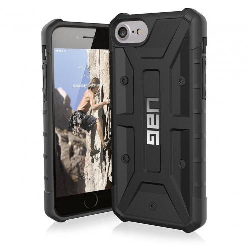 Coque Antichoc Apple iPhone 6 Plus / 7 Plus / 8 Plus Urban Armor Gear® UAG Plasma Noir