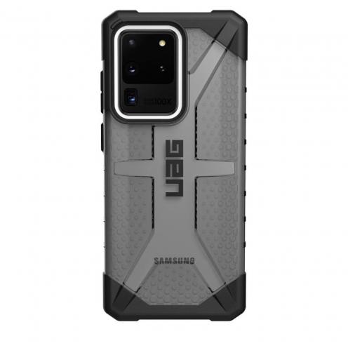 ( UAG ) Urban Armor Gear Plasma case pour Samsung S20 ULTRA Noir Transparent