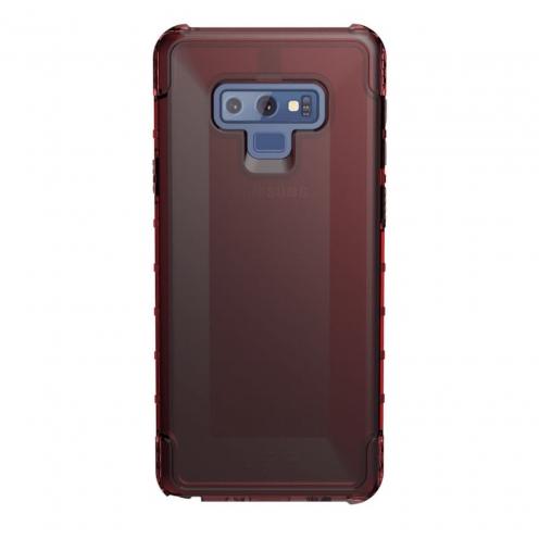 ( UAG ) Urban Armor Gear Plyo pour Samsung NOTE 9 Rouge transparent