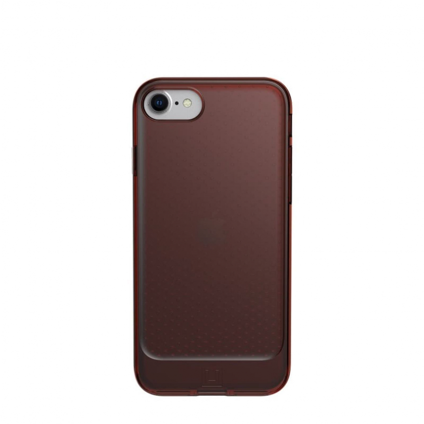 Coque ( UAG ) Urban Armor Gear Lucent pour iPhone 7 / 8 / SE 2020 orange