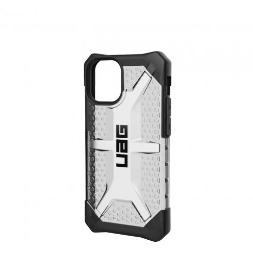 Coque ( UAG ) Urban Armor Gear Plasma pour iPhone 12 MINI ash