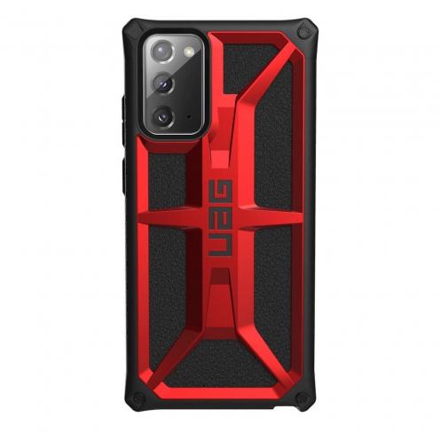 Coque ( UAG ) Urban Armor Gear Monarch pour Samsung NOTE 20 Rouge