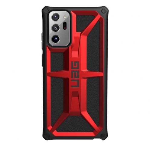 Coque ( UAG ) Urban Armor Gear Monarch pour Samsung NOTE 20 ULTRA Rouge