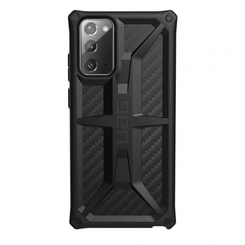 Coque ( UAG ) Urban Armor Gear Monarch pour Samsung Note 20 carbon fiber
