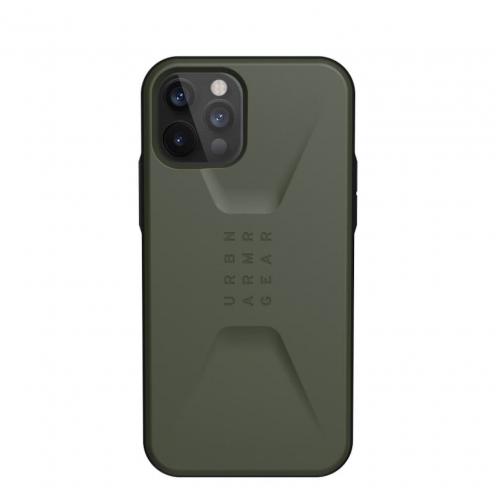 Coque ( UAG ) Urban Armor Gear Civilian pour iPhone 12 PRO MAX olive