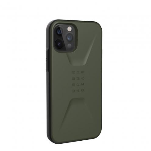 Coque ( UAG ) Urban Armor Gear Civilian pour iPhone 12 / 12 PRO olive