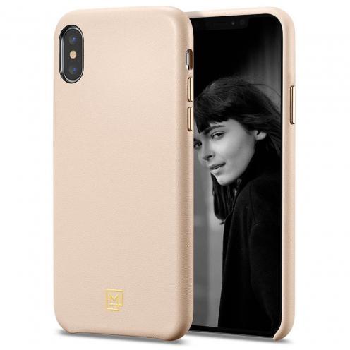 Coque SPIGEN La Manon Calin pour Iphone XS MAX PALE Rose