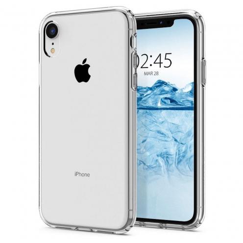 Coque SPIGEN Liquid crystal pour Iphone XR crystal clear