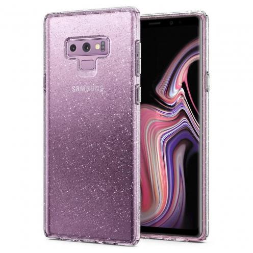 Coque SPIGEN Liquid Crystal Samsung NOTE 9 glitter crystal quartz
