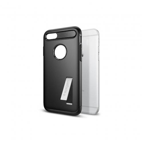 Coque SPIGEN Slim Armor pour Iphone 7 / 8 PLUS Noir