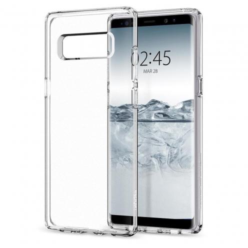 Coque SPIGEN Liquid Crystal Samsung NOTE 9 transparent