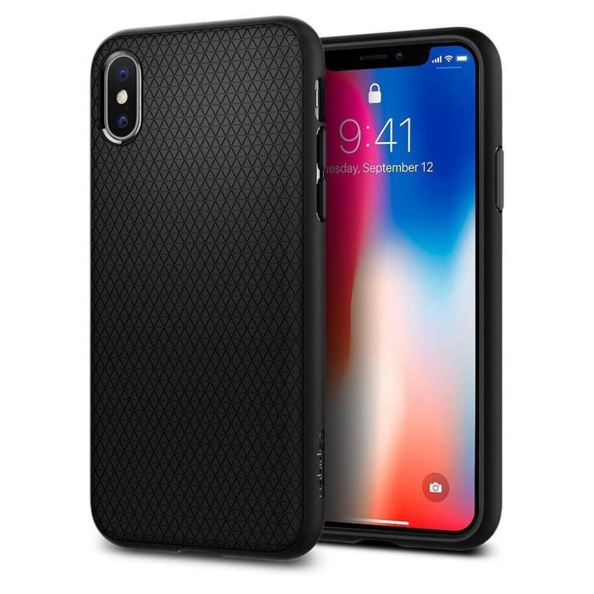 Coque SPIGEN Liquid Air pour Iphone 7 / 8 Noir