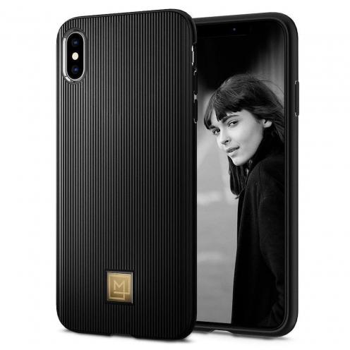 Coque SPIGEN La Manon Classy pour Iphone X/XS Noir