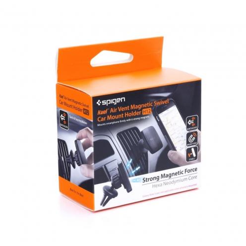 Support Voiture SPIGEN H12 Air Vent Magnetic Car Mount Holder