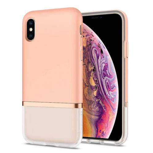 Coque SPIGEN La Manon Jupe pour Iphone XS Max milk peach