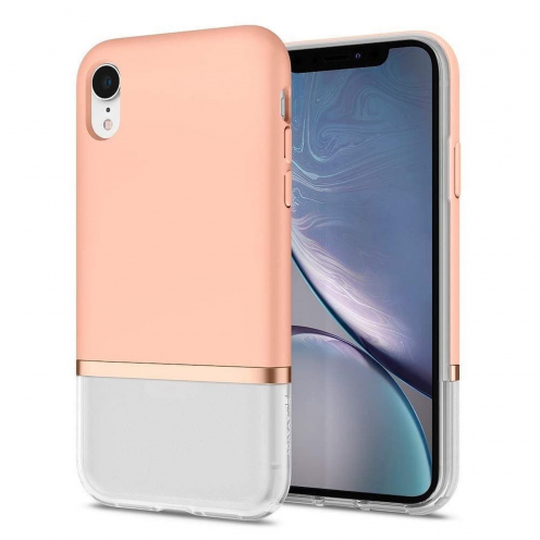 Coque SPIGEN La Manon Jupe pour Iphone XR milk peach