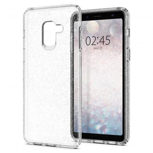 Coque SPIGEN Liquid Crystal SAMSUNG A8 2018 glitter quartz