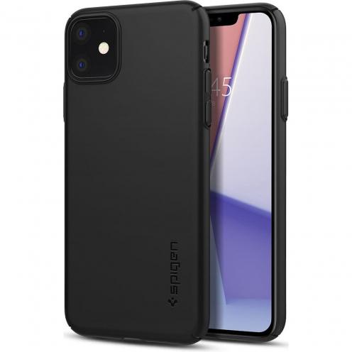 Coque SPIGEN Thin Fit Air Iphone 11 ( 6.1 ) Noir