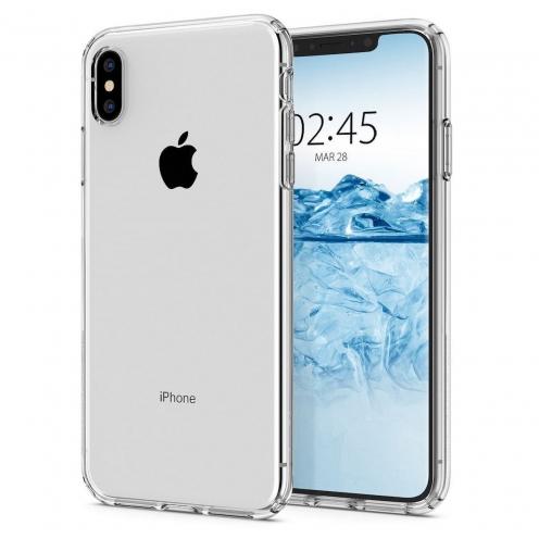 Coque SPIGEN Liquid Crystal pour Iphone XS crystal clear