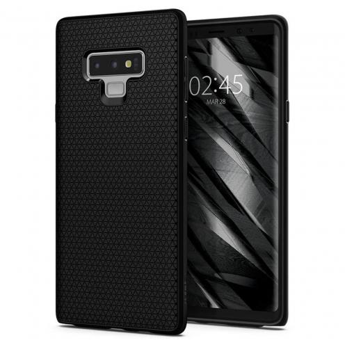 Coque SPIGEN Liquid Air Samsung NOTE 10 PLUS matte Noir