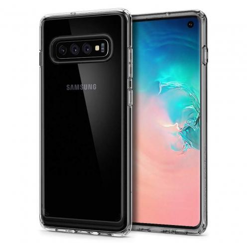 Coque SPIGEN Crystal Hybrid Galaxy S10 transparent