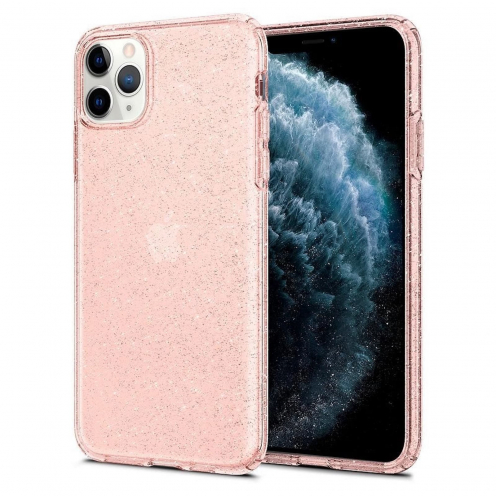 Coque SPIGEN Liquid Crystal do Iphone 11 PRO ( 5.8 ) glitter rose