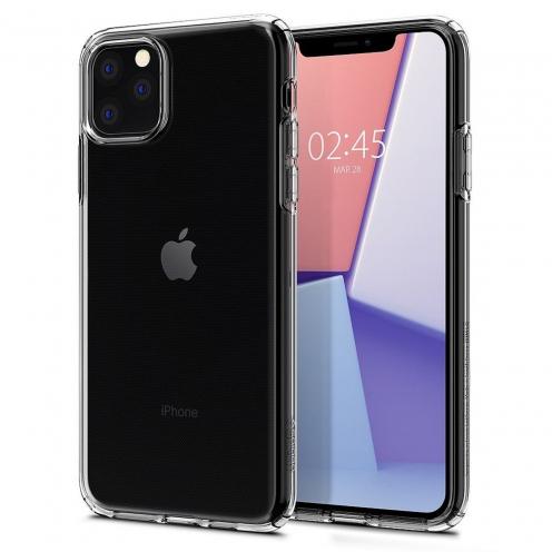 Coque SPIGEN Liquid Crystal pour Iphone 11 ( 6.1 ) transparent