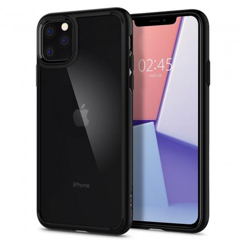 Coque SPIGEN Ultra Hybrid pour Iphone 11 PRO ( 5.8 ) matte Noir