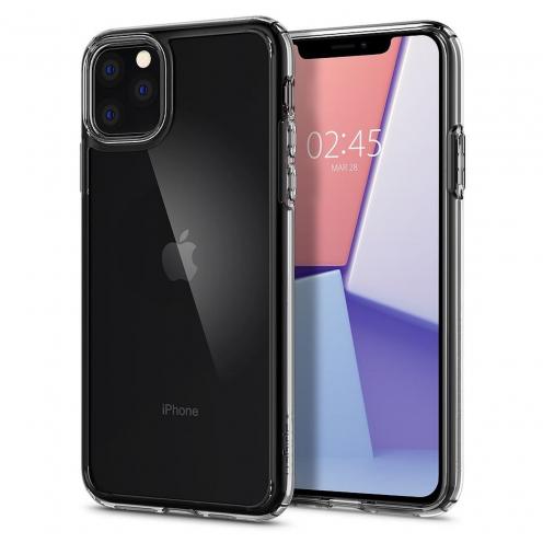 Coque SPIGEN Ultra Hybrid pour Iphone 11 PRO Max ( 6.5 ) transparent